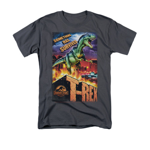 Image for Jurassic Park T-Shirt - Rex in the City