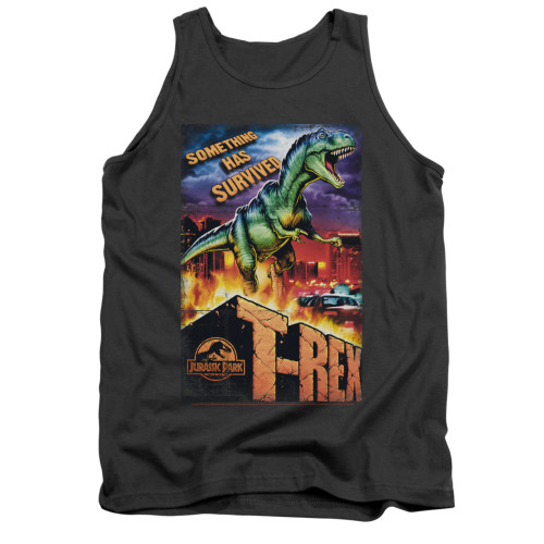 Image for Jurassic Park Tank Top - Rex in the City