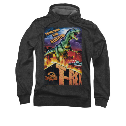 Image for Jurassic Park Hoodie - Rex in the City