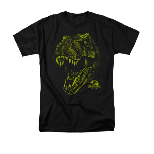 Image for Jurassic Park T-Shirt - Rex Mount