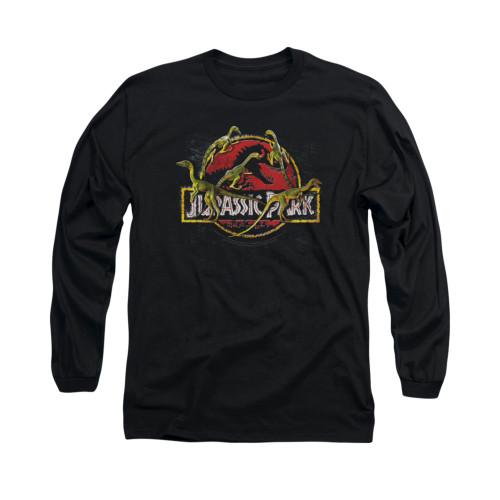 Jurassic Park Long Sleeve T-Shirt - Something Has Survived