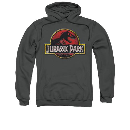 Image for Jurassic Park Hoodie - Stone Logo