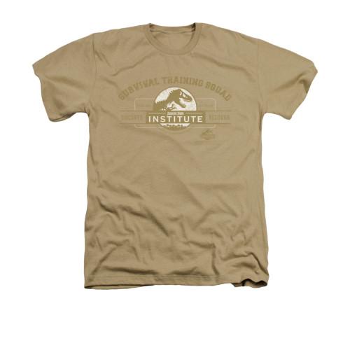 Jurassic Park Heather T-Shirt - Survival Training Squad