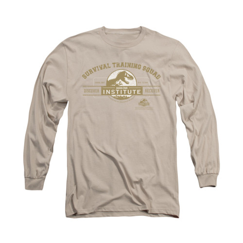 Image for Jurassic Park Long Sleeve T-Shirt - Survival Training Squad