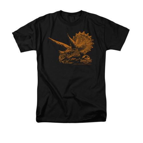 Image for Jurassic Park T-Shirt - Tri Mount