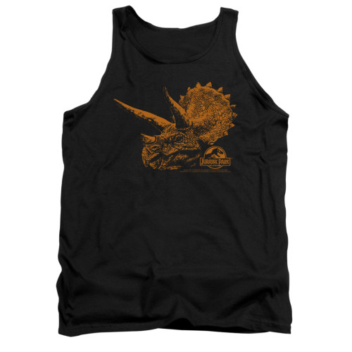 Image for Jurassic Park Tank Top - Tri Mount