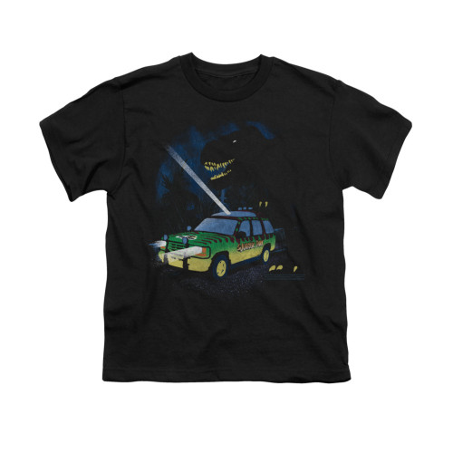 Image for Jurassic Park Youth T-Shirt - Turn it Off