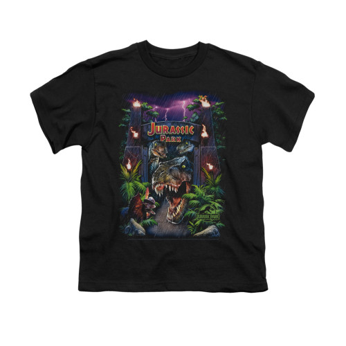 Image for Jurassic Park Youth T-Shirt - Welcome to the Park