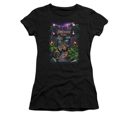Image for Jurassic Park Girls T-Shirt - Welcome to the Park