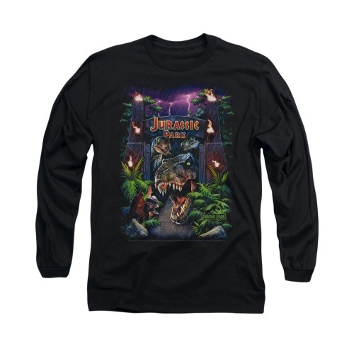 Image for Jurassic Park Long Sleeve T-Shirt - Welcome to the Park