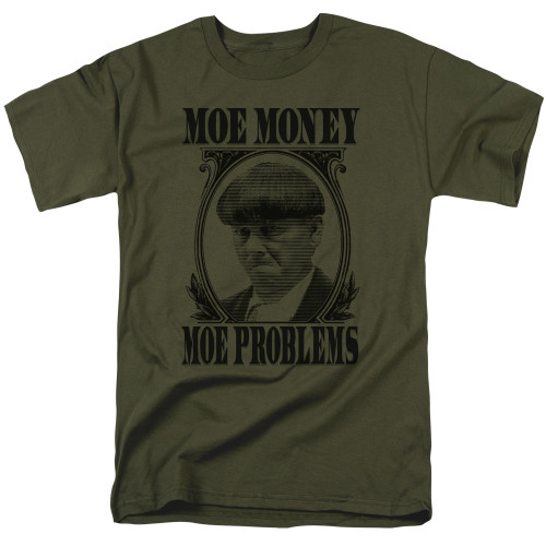 Image for The Three Stooges T-Shirt - Moe Money