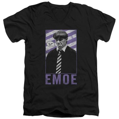Image for The Three Stooges V-Neck T-Shirt Emoe