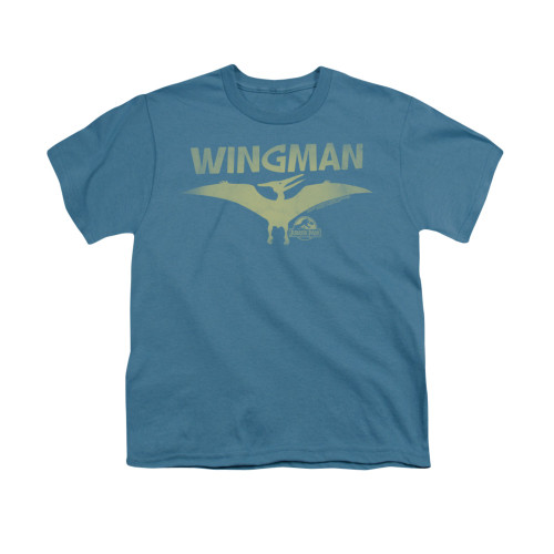 Image for Jurassic Park Youth T-Shirt - Wingman