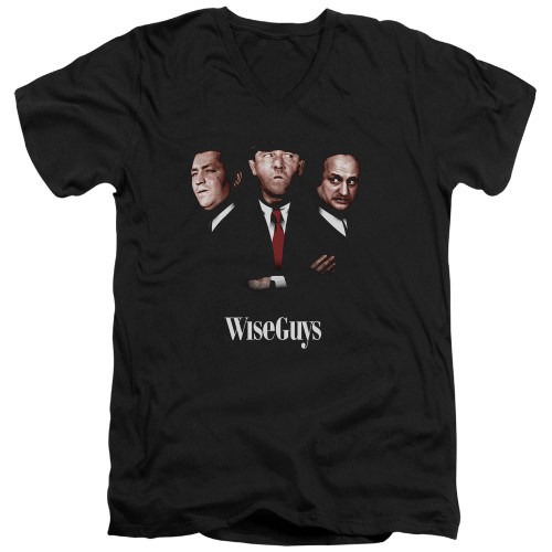 Image for The Three Stooges V-Neck T-Shirt Wiseguys