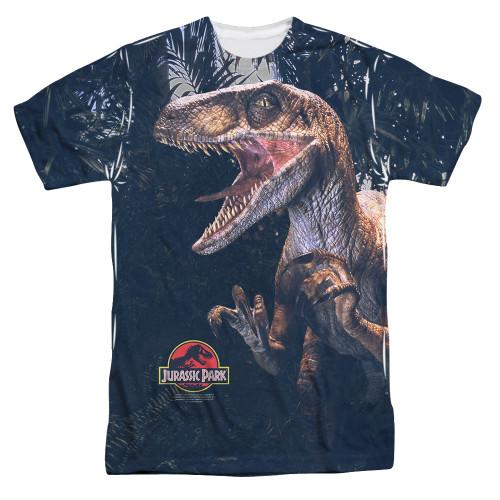 Jurassic Park Sublimated T-Shirt - Raptors 100% Polyester