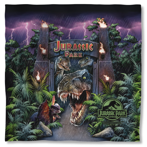 Image for Jurassic Park Bandana - Welcome to the Park