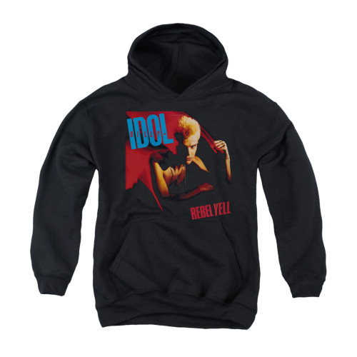 Image for Billy Idol Youth Hoodie - Rebel Yell