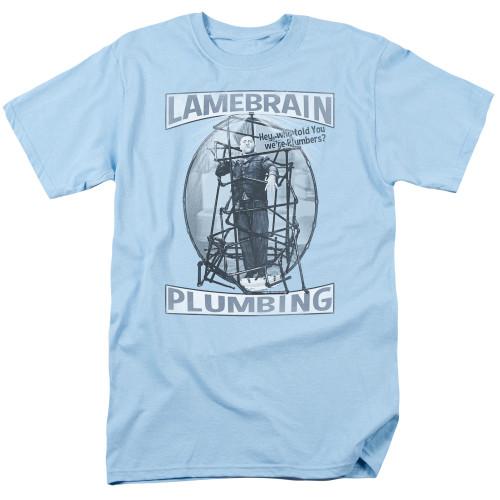 Image for The Three Stooges T-Shirt - Lanebrain Plumbing
