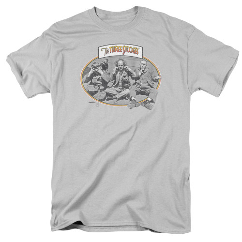Image for The Three Stooges T-Shirt - Monkey See