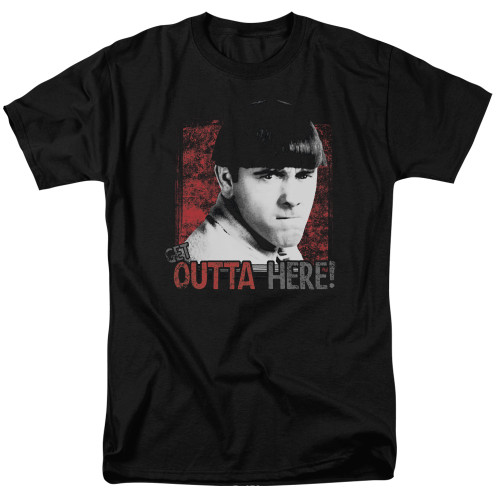 Image for The Three Stooges T-Shirt - Get Outta Here