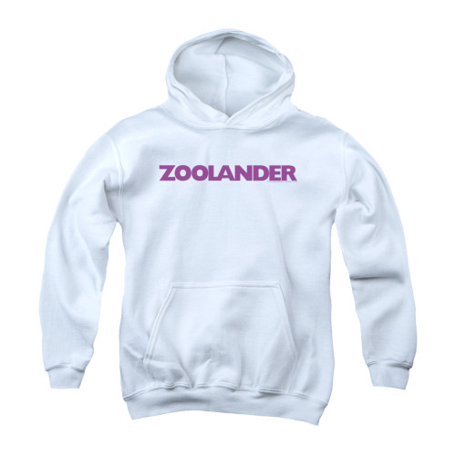 Image for Zoolander Youth Hoodie - Logo