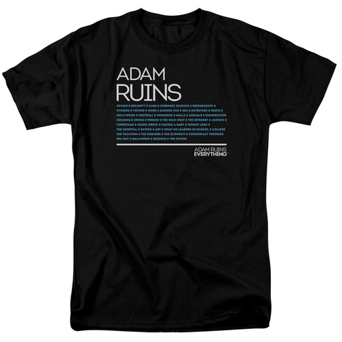 Image for Adam Ruins Everything T-Shirt - Everything