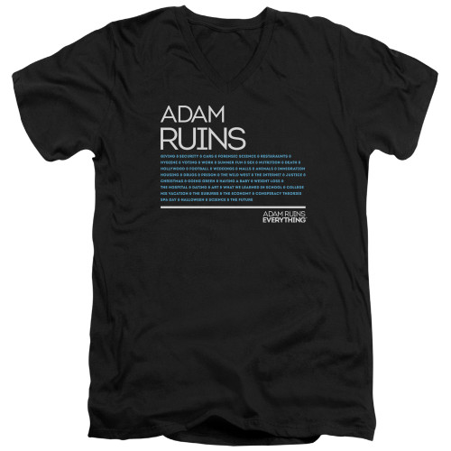 Image for Adam Ruins Everything V-Neck T-Shirt Everything