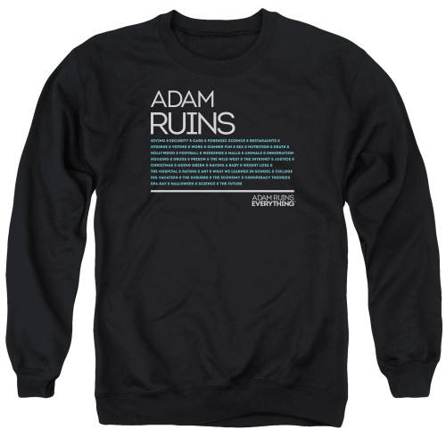 Image for Adam Ruins Everything Crewneck - Everything