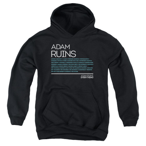 Image for Adam Ruins Everything Youth Hoodie - Everything