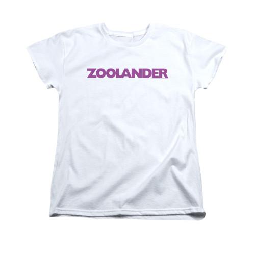 Image for Zoolander Woman's T-Shirt - Logo