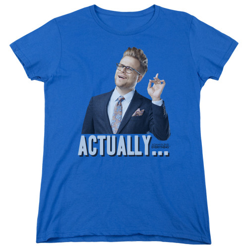 Image for Adam Ruins Everything Woman's T-Shirt - Actually