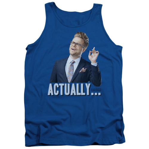 Image for Adam Ruins Everything Tank Top - Actually