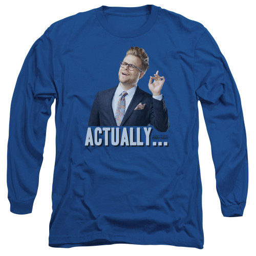 Image for Adam Ruins Everything Long Sleeve T-Shirt - Actually