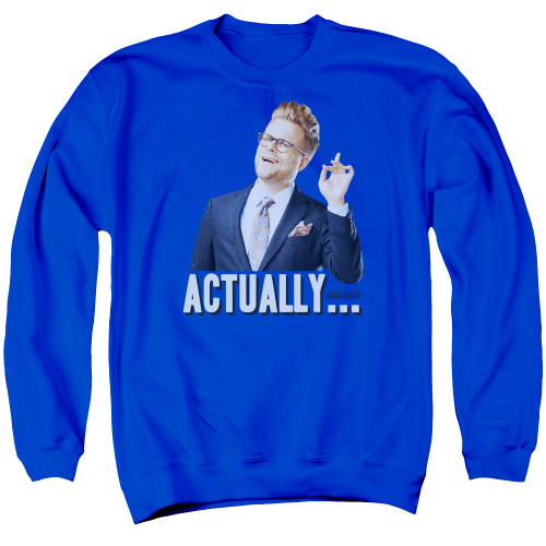 Image for Adam Ruins Everything Crewneck - Actually