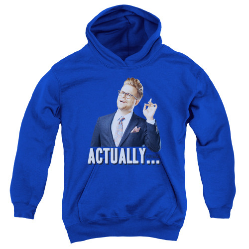 Image for Adam Ruins Everything Youth Hoodie - Actually