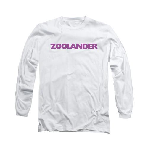 Image for Zoolander Long Sleeve T-Shirt - Logo