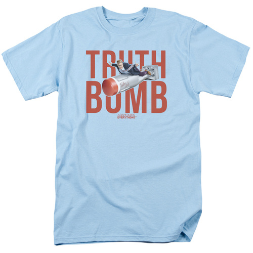 Image for Adam Ruins Everything T-Shirt - Truth Bomb on Blue
