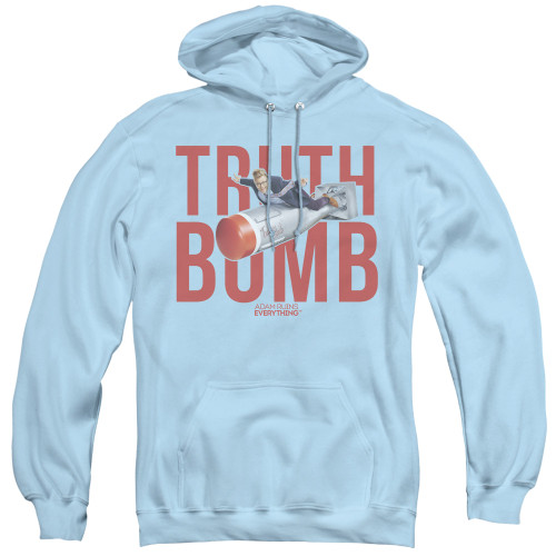 Image for Adam Ruins Everything Hoodie - Truth Bomb on Blue
