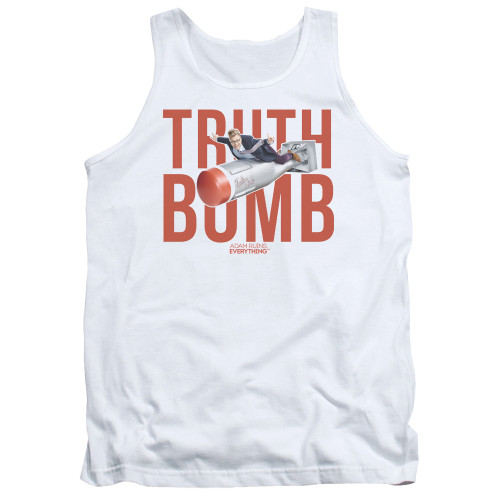 Image for Adam Ruins Everything Tank Top - Truth Bomb on White