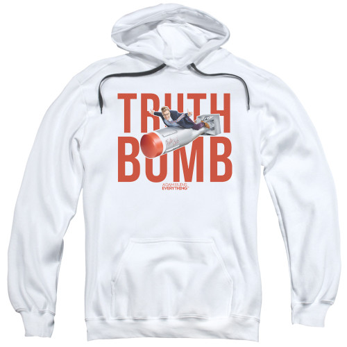 Image for Adam Ruins Everything Hoodie - Truth Bomb on White