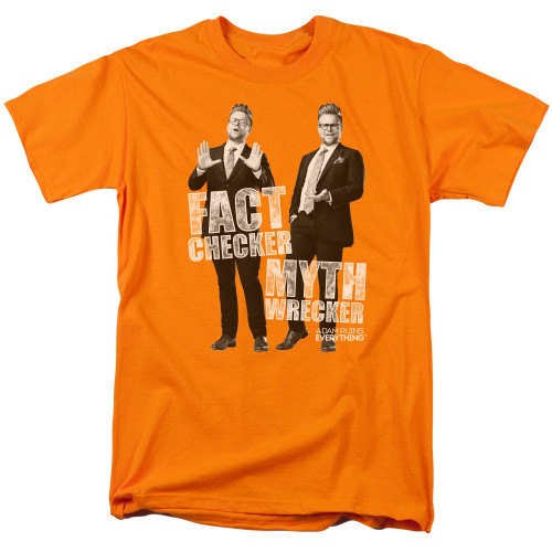 Image for Adam Ruins Everything T-Shirt - Fact Checker Myth Wrecker