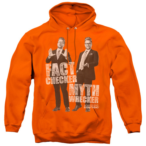 Image for Adam Ruins Everything Hoodie - Fact Checker Myth Wrecker