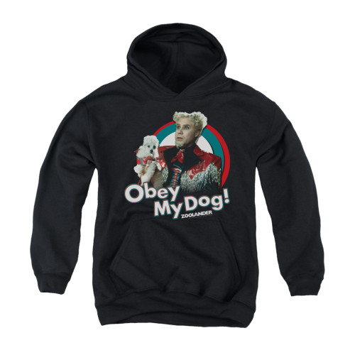 Image for Zoolander Youth Hoodie - Obey My Dog