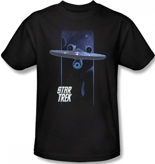 Image Closeup for Star Trek T-Shirt - Interplanetary