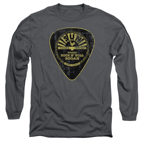 Image for Sun Records Long Sleeve T-Shirt - Guitar Pick