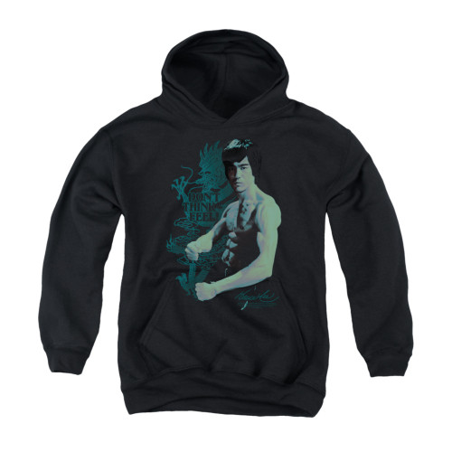 Image for Bruce Lee Youth Hoodie - Feel