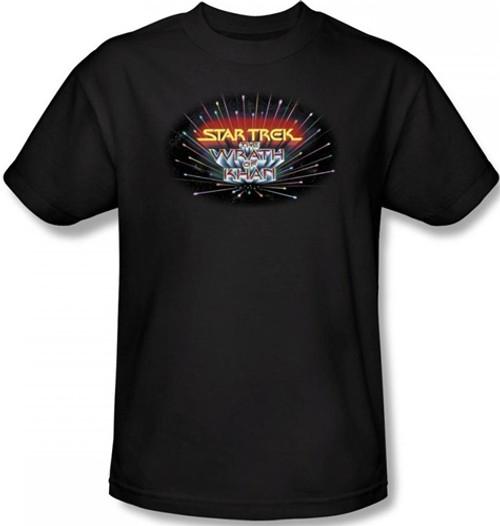 Image Closeup for Star Trek Movie T-Shirt - Wrath of Khan