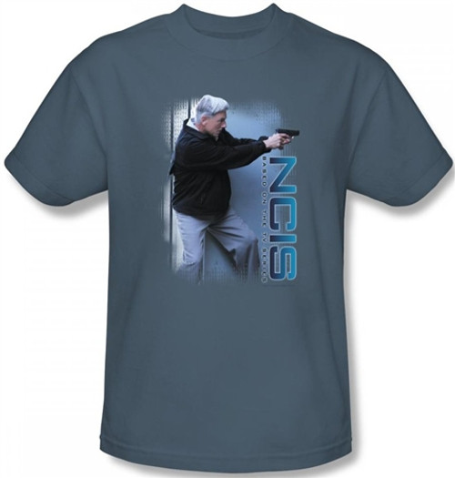 Image Closeup for NCIS Drop It T-Shirt