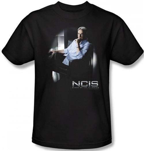 Image Closeup for NCIS Gibbs Ponders T-Shirt