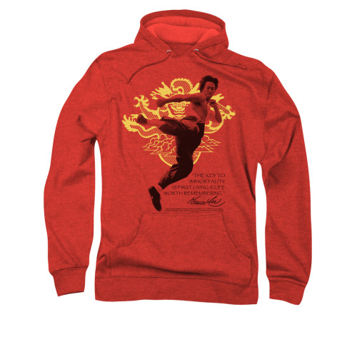 Image for Bruce Lee Hoodie - Immortal Dragon